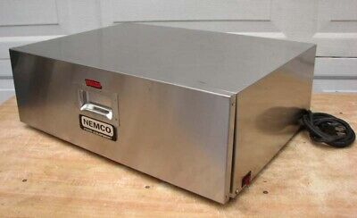 Nemco 8048 Food Hot Dog Bun Warmer 48 Buns Dry Warmer