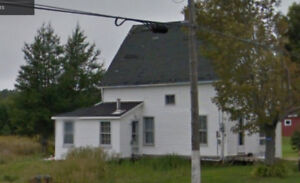 House for rent Memramcook, wood stove in living room 365 LaValle