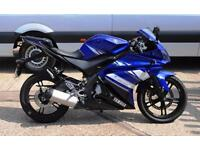 2011 - YAMAHA YZF R125, GREAT CONDITION, £2,500 OR FLEXIBLE FINANCE TO SUIT YOU