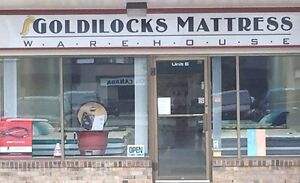 Goldilocks Mattress Warehouse- locally owned Single Double Queen