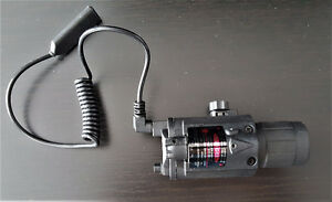 COMBO FLASHLIGHT FOR PICANNY RAIL MOUNT W/PRESSURE SWT