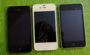 Iphone 4s Iphone 4 Ipod 3rd gen - All 8gb