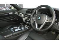 Black BMW 730 Ld Sport Se Diesel Auto 2015 FROM £195 PER WEEK!