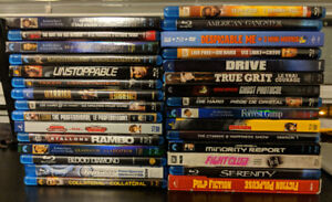 FS Blurays: Movies & TV Complete Series - Mint condition!