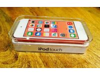 iPod touch 5th generation 16gb pink with 3 cases