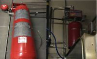 kitchen Fire Suppression Systems,Installing,Inspection,Drawing