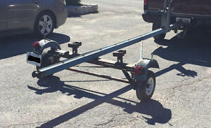 14' aluminum boat and tee-nee trailer with 1976 - 15 hp evinrude Kawartha Lakes Peterborough Area image 3