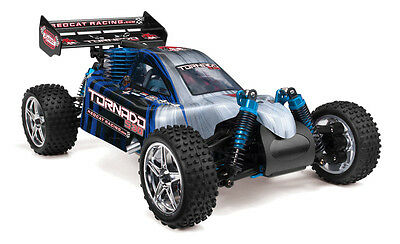Redcat Racing Tornado S30 1/10 Scale Nitro Remote RC Buggy 2.4GHz Blue