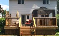 General Contracting Post Holes, New Decks, Fences