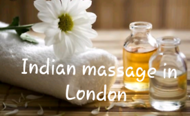 Full body Indian relaxation massage with an Indian girl
