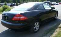 ** 2003 HONDA ACCORD EX-L COUPE FULLY LOADED  5 SPD  *W