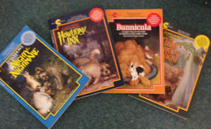 4 books in the Bunnicula series by James Howe