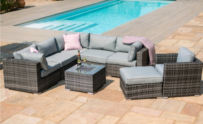 info for d1207 28c6c NEW 7 Seater Rattan Corner Garden Furniture Sofa Set | in Portadown, County  Armagh | Gumtree