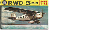 RWD-5BIS Model Aircraft Kit 1:72 Scale