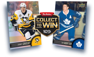 Tim Hortons Hockey Cards 2017- 2018