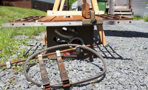 FREE OLD TABLE TOP PORTER CABLE SAW..