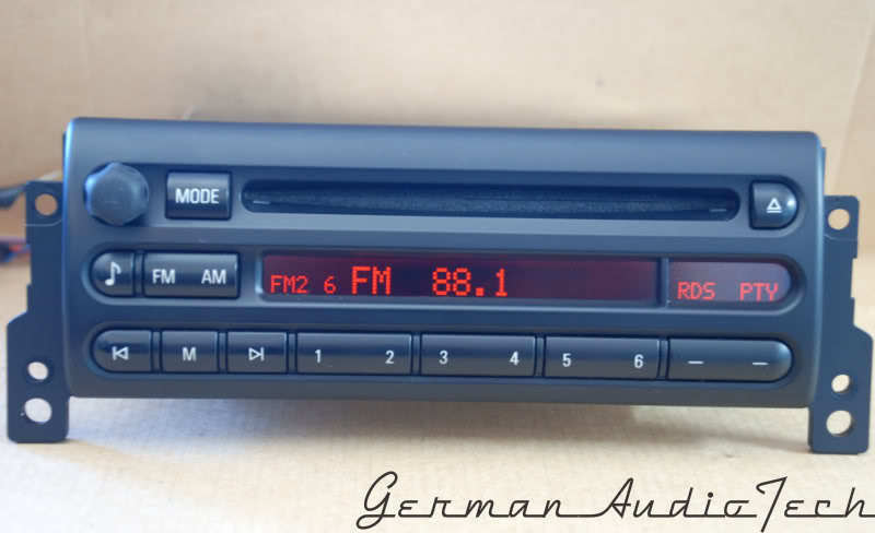 Details About Mini Cooper S Boost Cd Player Radio Cd53 Mp3 Aux R50 November 2005 2004 2003 02