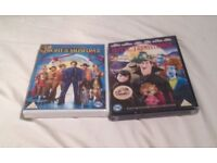 Night At The Museum 2 And Hotel Transylvania. Two New DVDs.