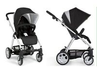 REDUCED Awesome Mamas & Papas Sola pram in EX cond + rain cover! RRP £350++