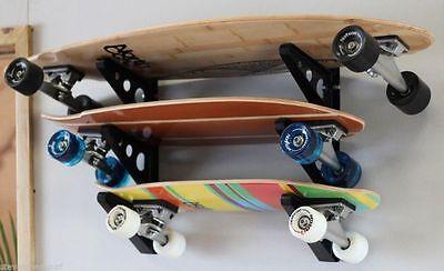 Store Your Board 3 Shelf Skateboard Snowboard Wall Rack NEW Penny storeyourboard