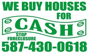 $ We Buy Houses - Fast Cash