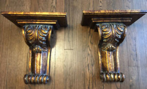"""2 High end wall sconces, !5"""" Height.View our other ads"""