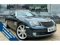 2006 Chrysler Crossfire 3.2 V6 2d 215 BHP AUTOMATIC! - FULL LEATHER INTERIOR! PA