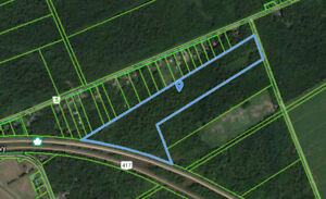 46 acres land nr Embrun! Perfect for ATVs, hunting, recreation!