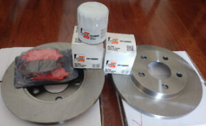 Brake Rotors, Pads + Oil filters for Chevrolet, Buick, Pontiac