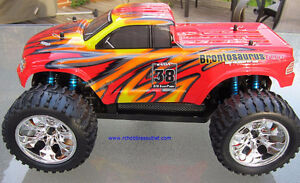 New RC Brushless Electric Truck TOP2 Version LIPO, 4WD 2.4G London Ontario image 4
