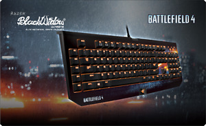 Razer Battlefield 4 BlackWidow Ultimate Mechanical PC Gaming Key