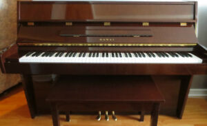 Kawai CE 7 Upright Piano, Made in Japan.