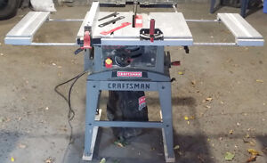 "Craftsman 10"" table saw in good order $65 OBO"