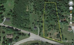 2.35 ACRES  READY TO BUILD ON