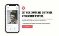 Tinder Photographer | Stop missing out on great matches.