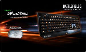 RAZER BlackWidow Ultimate - Limited Battlefield 3 Edition