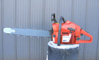Husqvarna 61 chainsaw - Nice rebuilt saw