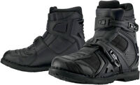 Icon Field Armor 2 Motorcycle Boots Like New Size 10