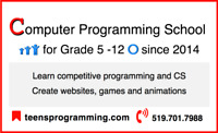 Kids coding summer school @ Teens Programming