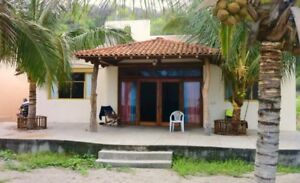 Ocean front home in lovely Ecuado