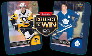 Tim Hortons NHL 2017-18 Hockey trading cards TRADE/ECHANGE