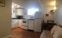 Avail Now!  Central NW basement suite, clean, close to Uof C