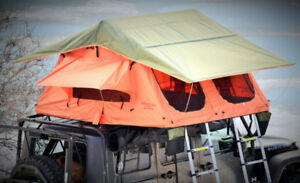 RMT Explorer+ Roof Top Tent with custom Toyota Tacoma rack