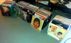 VINYL RECORD COLLECTION FOR SALE 33 & 45 EVERYTHING HAS TO GO!