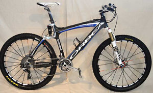 Orbea Oiz Carbon XC race bike, Full suspension, Full XTR, 22 lbs