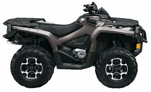 2014 Can Am Outlander 650xt pure magnesium Like NEW