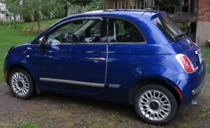2013 Fiat 500 Silver Hatchback All equip