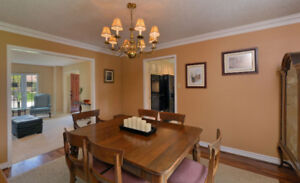 Gibbard walnut dining chairs