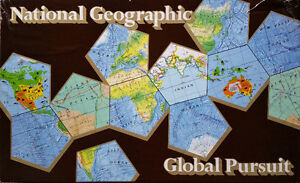 National Geographic Global Persuit Board Game