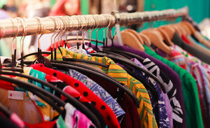 LOOKING FOR YOUR OLD CLOTHES!